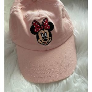 Disney Minnie Mouse pink Hat           1